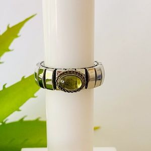 Peridot Nomination Extension Ring